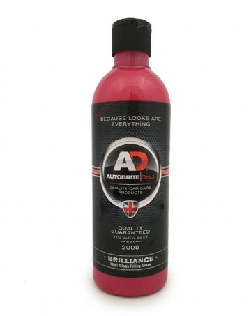 Autobrite Direct - Brillance, High Gloss Glaze Polish Wax, Masks Swirls - 500ml